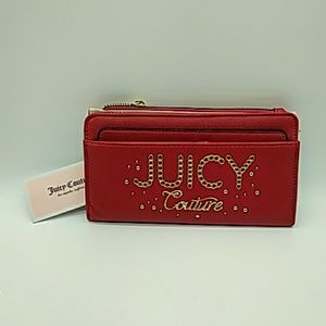 Juicy Couture Lime light Wallet chilli red NEW!
